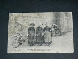 SAINT JEAN DE MONTS    1910   / VUE  FOLKLORIQUE  ........  EDITEUR - Saint Jean De Monts
