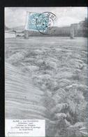 30, Alais, Les Inondations D'octobre 1907 Comme Au Niagara - Alès