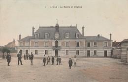 91 - LINAS - La Mairie Et L' Eglise - Autres Communes