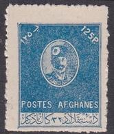 Afghanistan, Scott 365 1950 Nadir Shah 125p Blue, Mint Never Hinged - Afghanistan