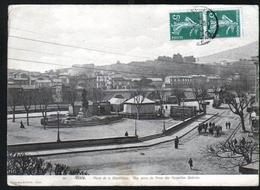 30, Alais, Carte-vue, Place De La Republique, Vue Prise Du Dome Des Nouvelles Galeries, Format 16,5 X 12cm - Alès