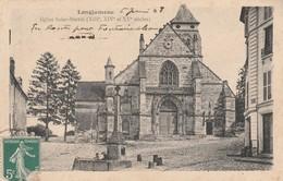 91 - LONGJUMEAU - Eglise Saint Martin (XIIIe, XIVe Et  XVe Siècles) - Longjumeau