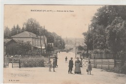 BACCARAT  -Avenue De La Gare - Passage à Niveau  - Timbrée 1911 - Baccarat