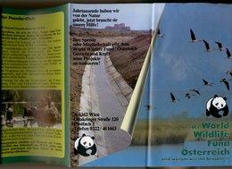 Dépliant Touristique 1981 -  World Wildlife Fund Innsbruck Tirol 21 X 10 Cm - Dépliants Touristiques