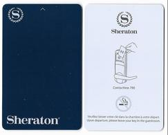 Sheraton  Hotels,  Used Contactless Hotel Room Key Card #   Sheraton-111d - Hotel Keycards