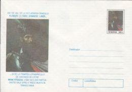KING MICHAEL THE BRAVE OF ROMANIA, COVER STATIONERY, ENTIER POSTAL, 1997, ROMANIA - Interi Postali