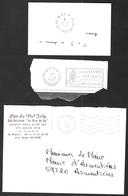 FRANCE '59 AVESNES SUR HELPE P.P.' 1972/92  3  MARQUES POSTALES - Marcophilie (Lettres)