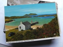Ierland Ireland Derrynane Harbour And Scariff Island - Ierland