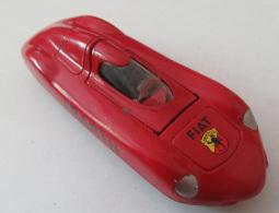 Voiture Miniature Solido/Hachette - Fiat Abarth 1/43e Avec Emboîtage - Toy Memorabilia