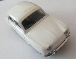 Voiture Miniature Solido/Hachette - Renault Dauphine 1/43e Avec Emboîtage - Toy Memorabilia