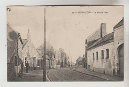 CPSM HORNAING (Nord) - La Grande Rue - France