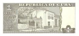 CUBA P. 125 1 P 2003 UNC - Cuba