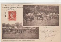 Mission Ottomane Nancy - Revue Plateau De Malzéville 1910 - Cies Cyclistes - Bataillons à Pied - Mitrailleuses - Nancy
