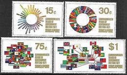 Singapore 1971   Sc#129-32     Commonwealth   Set    MH*   2016 Scott Value $10.25 - Singapore (1959-...)