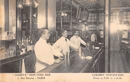 CPA 75 -   PARIS - 5, Rue Daunou - Harry's New York Bar - Cabaret Downstairs - Distretto: 02