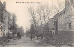 CPA 62 - COUIN - Grand Rue - Francia