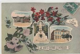 De LUNEVILLE Je Vous Envoie Le Bonjour-divers Aspects -fantaisie Timbrée 1910 - Luneville