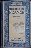 Ernest  Lavisse - Histoire De France - Cours Moyen - Librairie Armand Colin - ( 1937 ) . - Books, Magazines, Comics