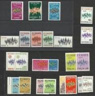 1972 EUROPA CEPT EUROPE  ANNATA  YEAR  22 Paesi (46 Valori) MNH** - 1972