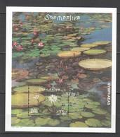 F089 2001 SOOMAALIYA FLORA FLOWERS NYMPHAEAS 1BL MNH - Végétaux