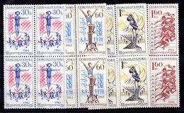 Bloque De Cuatro De Checoslovaquia Nº Yvert 1404/07 (**) - Tschechoslowakei/CSSR