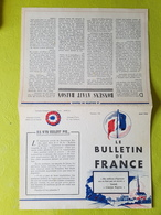 Le Bulletin De France 1943 - Documenti