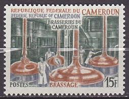 Timbre Neuf ** N° 485(Yvert) Cameroun 1970 - Brasseries Du Cameroun, Brassage - Cameroon (1960-...)