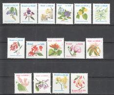 F091 BRAZIL PLANTS FLOWERS 1 BIG SET MNH - Végétaux