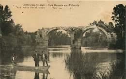 30   GALLARGUES  PONT ROMAIN SUR VIDOURLE - Gallargues-le-Montueux