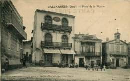 30   GALLARGUES  PLACE DE LA MAIRIE - Gallargues-le-Montueux