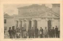 30   GALLARGUES   LES HALLES - Gallargues-le-Montueux