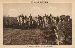 30   GALLARGUES    UNE ARRIVADO - Gallargues-le-Montueux