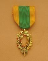 """Militaria Belge Médaille """" ORDRE DE L'UNAO """" Grandes Palmes D'Or - Belgium"""