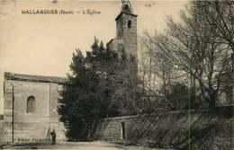 30   GALLARGUES  L'EGLISE - Gallargues-le-Montueux