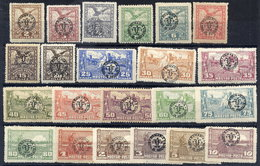 DEBRECEN 1920 Definitive Set Of 22 On Matt Paper MH / *.  Michel 78x-98x - Debreczen
