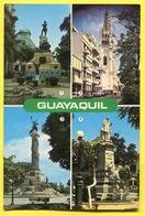 ECUADOR -  GUAYAQUIL - Monumento Sucre , Y Pedro Carbo ,catedral ,columna Los Proceres - Ecuador