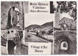 CPSM 06 ST DALMAS   VALDEBLORE Village D'art Ancien - Autres Communes
