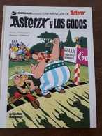 297 -  2 BD  ASTERIX  - Asterix Y Los Godos ESPAGNOL - Asterix Eta Kleopatra BASQUE  +++++++ - BD (autres Langues)