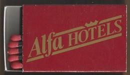 Luciferdoosje. ALFA HOTELS. BELGIUM. Matchbox Allumettes Luciferdoos Lucifer Lucifermap - Matchboxes