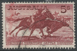 Australia. 1959-64 Definitives. 5/- Used. SG 327 - 1952-65 Elizabeth II : Pre-Decimals