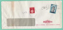 """BRIEF MIT U.A. BRIEFMARKE """"EUROPA 56"""". - 1949-1980 (Juliana)"""