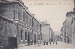 [38] Isère > Grenoble  La Prison Civile Et La Rue De Strasbourg RECHERCHER RARE - Grenoble