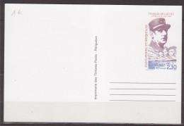 = Carte Postale Saint Pierre Et Miquelon Entier Anniversaire Appel Du 18 Juin Du Général De Gaulle, Portraits - Postal Stationery