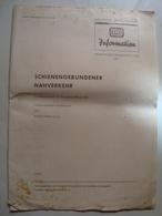 HANS SPARKUHLE - DB INFORMATION. SCHRIFTTUMSZUSAMMENSTELLUNG NR. 1. SCHIENENGEBUNDENER NAHVERKEHR - GERMANY, 1964. - Railway