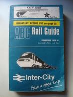 ABC RAIL GUIDE. NOVEMBER 1978. - Railway