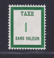 FRANCE FICTIF TAXE N° FT14 ** MNH Timbre Neuf Sans Charnière, TB - Phantom