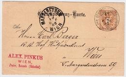 """1888,sehr Früher  Sonder-Stp. """" Wien - Gewerbe-Ausstellung """" , # A384 - 1850-1918 Empire"""