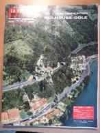 Vie Du Rail 1125 1967 Mitry Dole Mulhouse Altkirch Belfort Montbéliard Peugeot Sochaux Dannemarie Besançon Orchamps - Trains