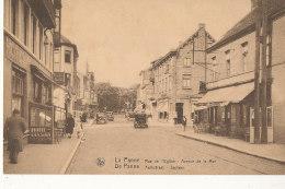 BELGIQUE )) LA PANNE  Rue De L'église, Avenue De La Mer - Belgique