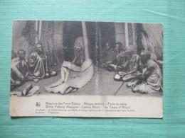 CPA AFRIQUE CENTRALE MISSIONS DES PERES BLANCS PACTE DU SANG - Cartes Postales